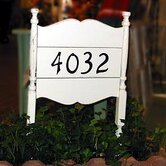 Uwharrie Chair Address Plaques & Lettering