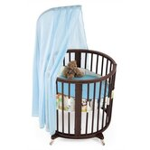 Sleepi Mini Bassinet Bedding Collection in Green Tales