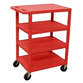 "36"" 4 Shelf Banquet Cart"