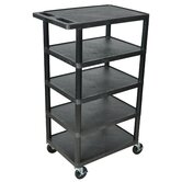 "46"" 5 Shelf Utility Cart"