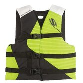 PFD 5973 Youth Antimicrobial Boy Life Jacket in Green