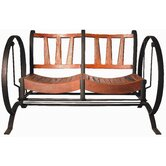 Chris Bruning Teak and Metal Garden Bench