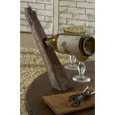 Spoke 1 Bottle Tabletop Wine Rack