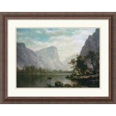 Mirror Lake, Yosemite Valley Framed Art Print by Albert Bierstadt