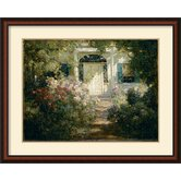 'Doorway and Garden' by Abbott Fuller Graves Framed Painting Print