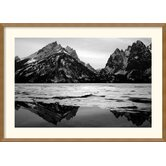 Teton Winter Framed Print by Andy Mage
