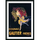 "Cognac Gautier Freres Framed Art Print Framed Decorative Art Print - 42"" x 30"""