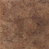 "Vallano 12"" x 12"" Glazed Field Tile in Dark Chocolate"