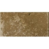 3&quot; x 6&quot; Cottage Tumbled Travertine in Noce