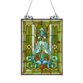 Chloe Lighting Stained Glass Panels
