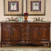 "Ella 72"" Double Sink Bathroom Vanity Cabinet"