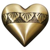 Dignity Brass Heart Keepsake Urn