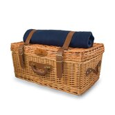 NFL Windsor Navy Engraved Picnic Basket