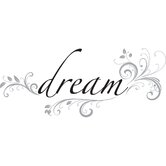 Dream Phrases Wall Decal