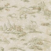 Northwoods Toile Wallpaper