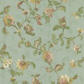 Mirage Signature V Chintz Floral Distressed Wallpaper