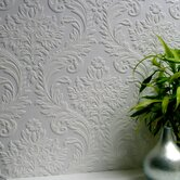 Anaglypta Paintable High Trade Textured Wallpaper