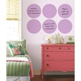 WallPops Dry-Erase Flirt Dot Decals (Set of 6)