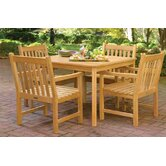 Classic Patio Square Dining Table