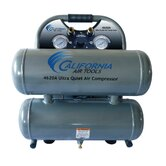 4620A Ultra Quiet  & Oil-Free  2.0 Hp, 4.6 Gal. Aluminum Twin Tank Air Compressor