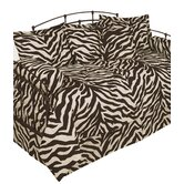 Brown Zebra Daybed Cover Set