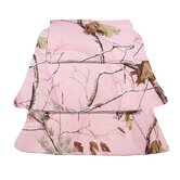 Camo Sheet Set in Pink