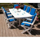 Nautical Signature 9 Piece Dining Set