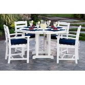 La Casa Cafe 5 Piece Dining Set with Cushions