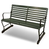 Ivy Terrace Steel Garden Bench