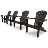 Ivy Terrace Classics 4 Piece Adirondack Seating Group