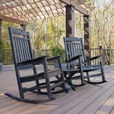 Trex Outdoor Yacht Club 3 Piece Rocker Set