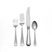 Gorham Fairfax 4 Piece Dinner Flatware Set