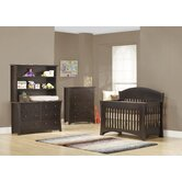 Sweet Bebe Two Piece  Convertible Crib Set