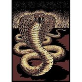 African Adventure Cobra Novelty Rug
