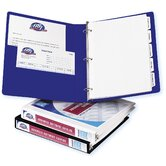 1&quot; Durable Reference View Binder in White