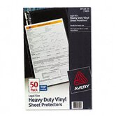 Top-Load Sheet Protectors, Heavy Gauge, Legal, 50/Box