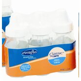 4 oz Clear Glass Nurser (3 Pack)