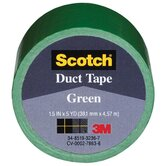 "1.5"" X 5 Yards Green Tape Cloth 1005-GRN-1P"