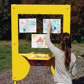 Tot Town Art Easel