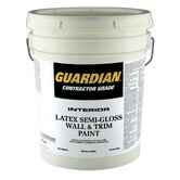 5 Gallons Semi-Gloss Dover White Contractor Grade Interior Latex W