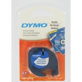 Pearl White Dymo LetraTag QX50 Tape