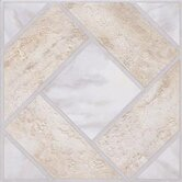 Madison 12&quot; x 12&quot; Vinyl Stone / Marble Tiles (Set of 9)