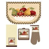 Medley Antique Fruit Bowl Kitchen Set (Set of 4)