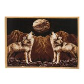 Zone Howling Wolves Novelty Rug