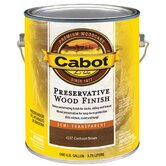 1 Gallon Brown Cordovan Semi Transparent Preservative Wood Finish