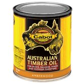 1 Quart Amberwood Australian Timber Oil® For Decks & Outdoor Furni