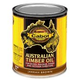 1 Quart Jarrah Brown Australian Timber Oil® For Decks & Outdoor Fu