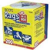 200 Count Scott® Rags In-A-Box 75260