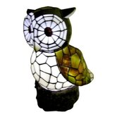 Solar Owl Statue