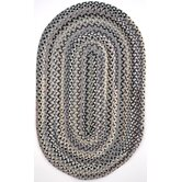 Pilgrims Heritage II Gray Plaid Multi Rug